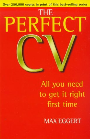 9780099406198: The Perfect CV