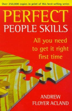 9780099406235: Perfect People Skills