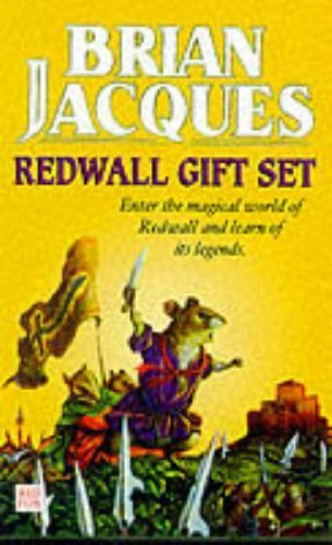 9780099407089: Redwall Gift Set: Outcast of Redwall; Mossflower; Martin the Warrior