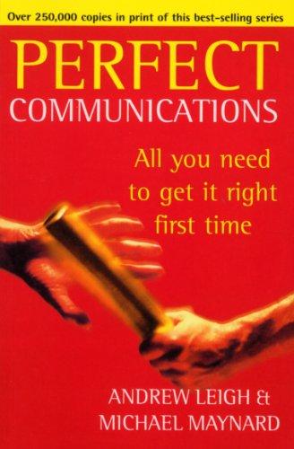 9780099410065: Perfect Communications