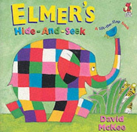 9780099410980: Elmer's Hide And Seek (Elmer's Lift the Flap Books)
