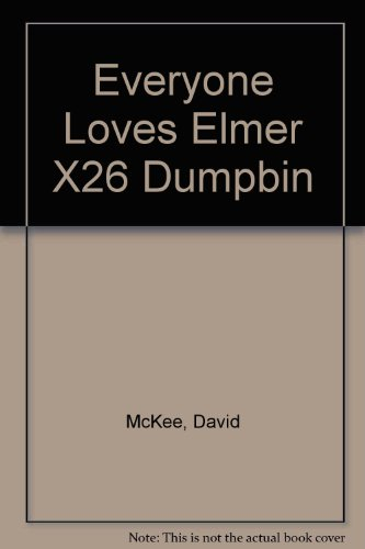 9780099412069: Everyone Loves Elmer X26 Dumpbin