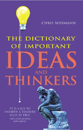 9780099415688: The Dictionary Of Important Ideas And Thinkers