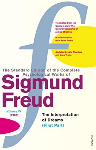 "9780099426554: The Complete Psychological Works of Sigmund Freud: "" The Interpretaion of Dreams "" , Pt.1 v. 4"