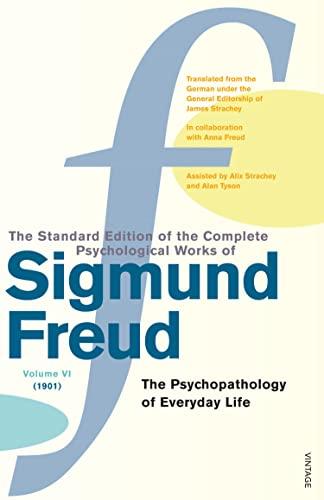 9780099426578: Complete Psychological Works Of Sigmund Freud, The Vol 6: