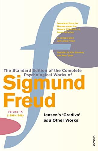 9780099426622: Complete Psychological Works Of Sigmund Freud, The Vol 9: Jensen's