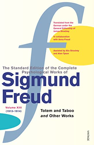 9780099426660: Complete Psychological Works Of Sigmund Freud, The Vol 13:
