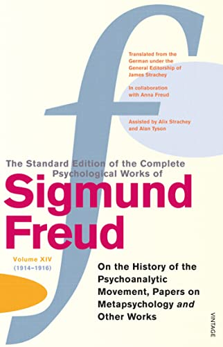 """The Complete Psychological Works of Sigmund Freud: """" On the History of the Post Psychoanalytic..."""