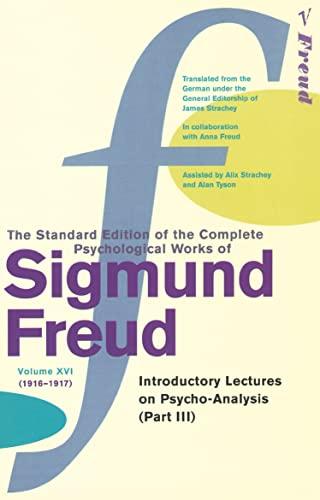 9780099426691: The Complete Psychological Works of Sigmund Freud - Volume 16: