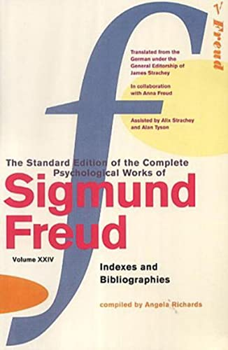 9780099426790: The Complete Psychological Works of Sigmund Freud: Indexes and Bibliographies v. 24