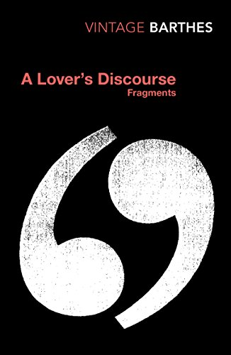 9780099437420: A Lover's Discourse: Fragments