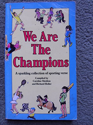 9780099447405: We are the Champions: A Sparkling Collection of Sporting Verse