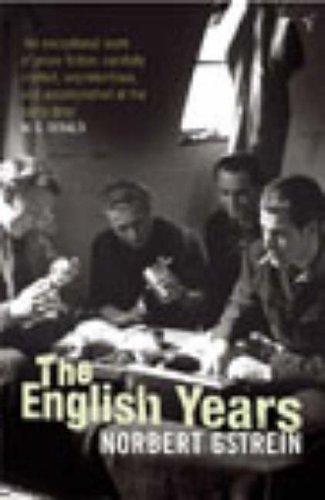9780099449171: The English Years