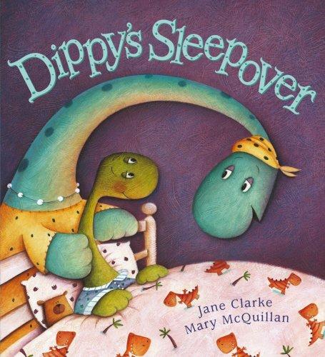 9780099451396: Dippy's Sleepover. Jane Clarke, Mary McQuillan