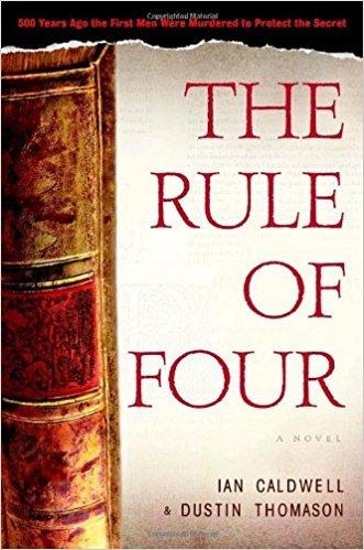 9780099451952: The Rule of Four. Ian Caldwell & Dustin Thomason