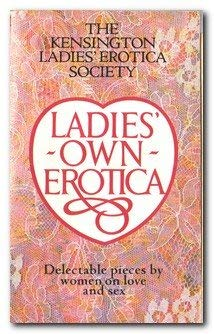 Ladies own erotica