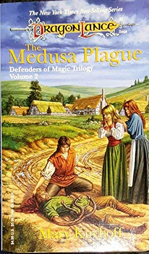 9780099456018: Dragonlance Defenders of Magic Trilogy Vol. 2: The Medusa Plague