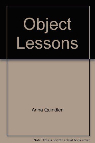9780099461432: Object Lessons