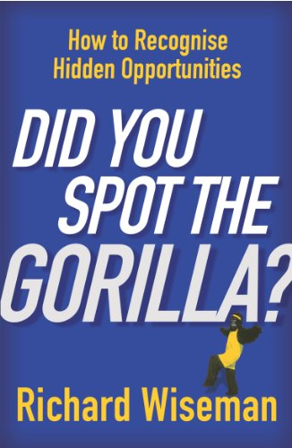 Did You Spot the Gorilla? How to Recognise Hidden Opportunities.