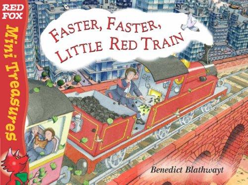 9780099475668: Little Red Train: Faster, Faster (Mini Treasure)