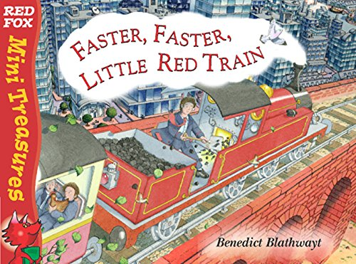 9780099475668: Faster, Faster Little Red Train