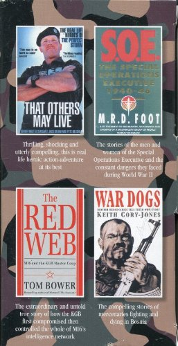 9780099480044: The Special Forces Collection - Four Volume Boxed Set: War Dogs; The Red Web; S.O.E. 1940-46; That Others May Live (The Special Forces Collection - Four Volume Boxed Set: War Dogs; The Red Web; S.O.E. 1940-46; That Others May Live)