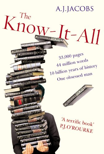 9780099481744: The Know-It-All: One Man's Humble Quest to Become the Smartest Person in the World