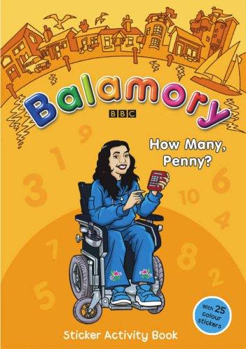 9780099481980: Balamory: How Many, Penny? - Sticker Activity Book: A Sticker Activity Book