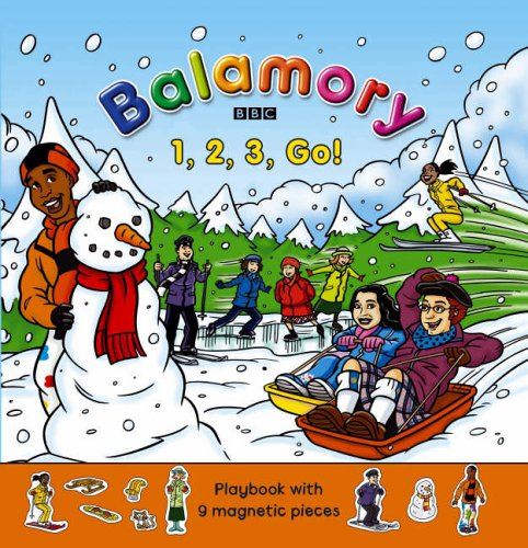 9780099482079: One, Two, Three, Go!: Magnet Book (Balamory)