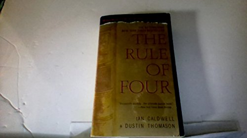 9780099486145: The Rule Of Four