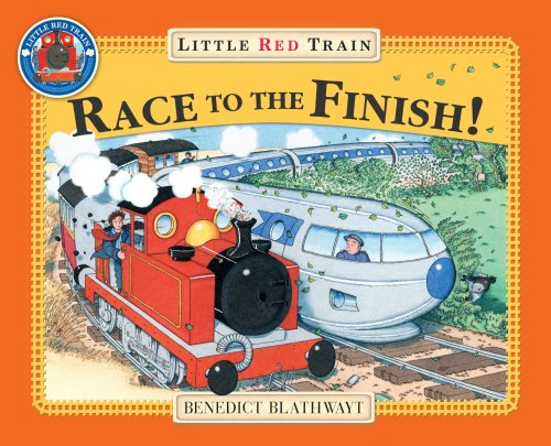 9780099495178: Little Red Train Race to the Finish!