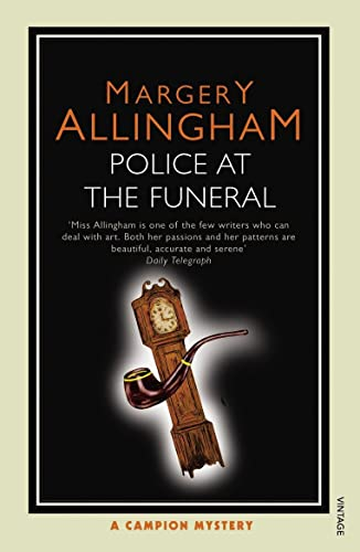 9780099507345: Police At the Funeral: A Campion Mystery
