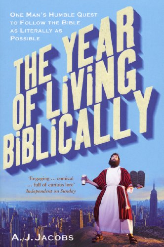 9780099509790: Year of Living Biblically: One Man's Humble Quest to Follow the Bible as Literally as Possible
