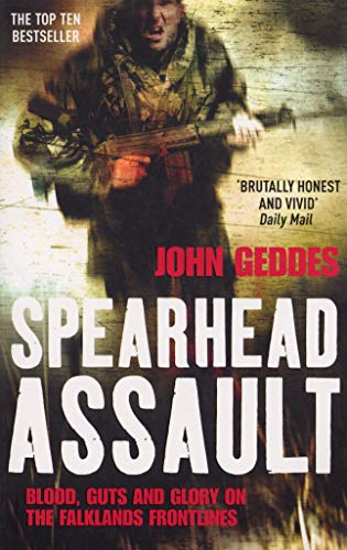 9780099514299: Spearhead Assault: Blood, Guts and Glory on the Falklands Frontline