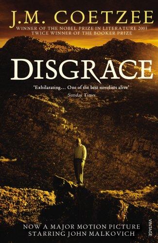 Disgrace: J M Coetzee