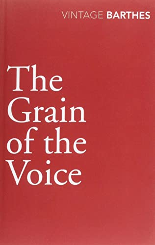 9780099528340: The Grain Of The Voice