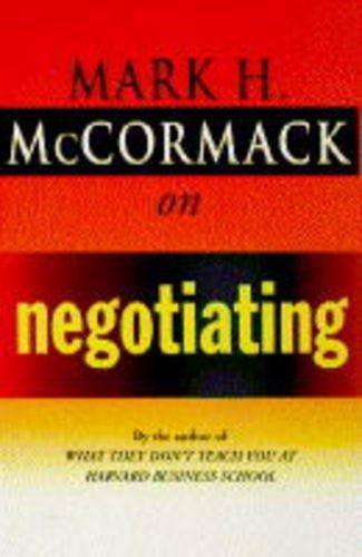 9780099536413: McCormack on Negotiating