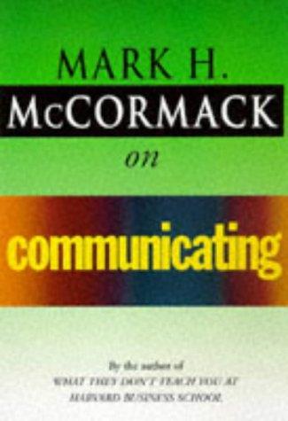 9780099536710: McCormack on Communicating