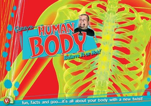 9780099543657: Human Body (Ripley's Twists)