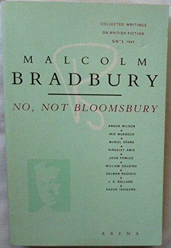 9780099544104: No, Not Bloomsbury (Arena Books)