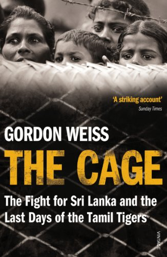 9780099548478: The Cage: The fight for Sri Lanka & the Last Days of the Tamil Tigers