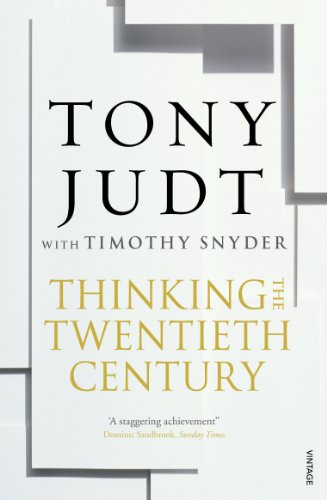 9780099563556: Thinking the Twentieth Century