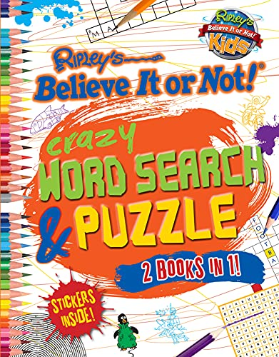 9780099568025: Ripley's Zany Puzzle Book and Wordsearch Book