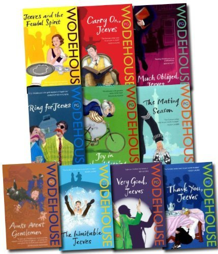 9780099586388: A Jeeves and Wooster Series Collection P G Wodehouse 10 Books Set Pack (The Inimitable Jeeves; Much Obliged, Jeeves; Ring for Jeeves; Thank You, Jeeves; The Mating Season; Joy in the morning; carry on, Jeeves; Aunts Aren't Gentlemen and more) (A Jeeves a