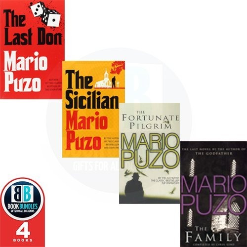 9780099587989: Mario Puzo 4 Books Collection Pack Set RRP: £33.3 (The Last Don, The Family, The Fortunate Pilgrim, The Sicilian)