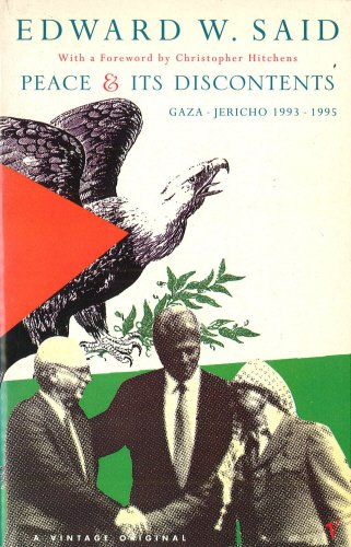 9780099594819: Peace and Its Discontents: Gaza - Jericho, 1993-1995
