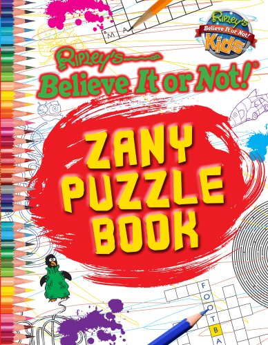 9780099596547: Zany Puzzle Book (Ripley's Believe It or Not!)