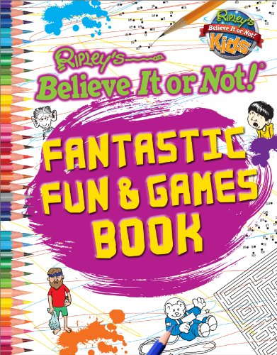 9780099596554: Ripley's Believe it or Not! Fantastic Fun & Games