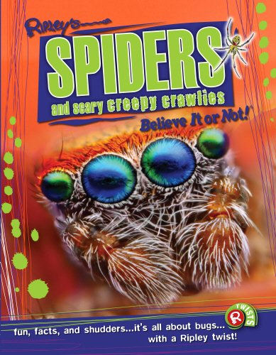 9780099596592: Spiders and Scary Creepy Crawlies (Ripley's Believe It or Not!)