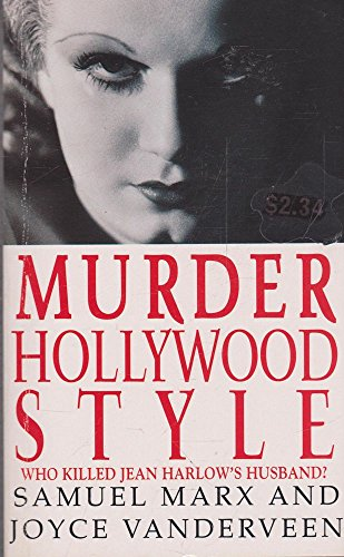 9780099610601: Murder Hollywood Style - Who Killed Jean Harlow's Husband?
